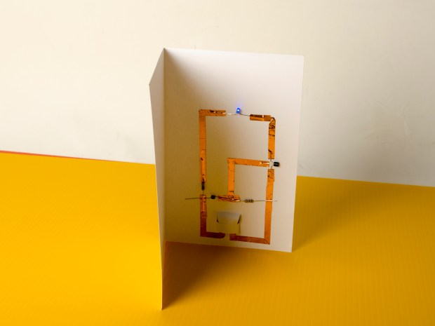 Make LED Greeting Cards Without Soldering