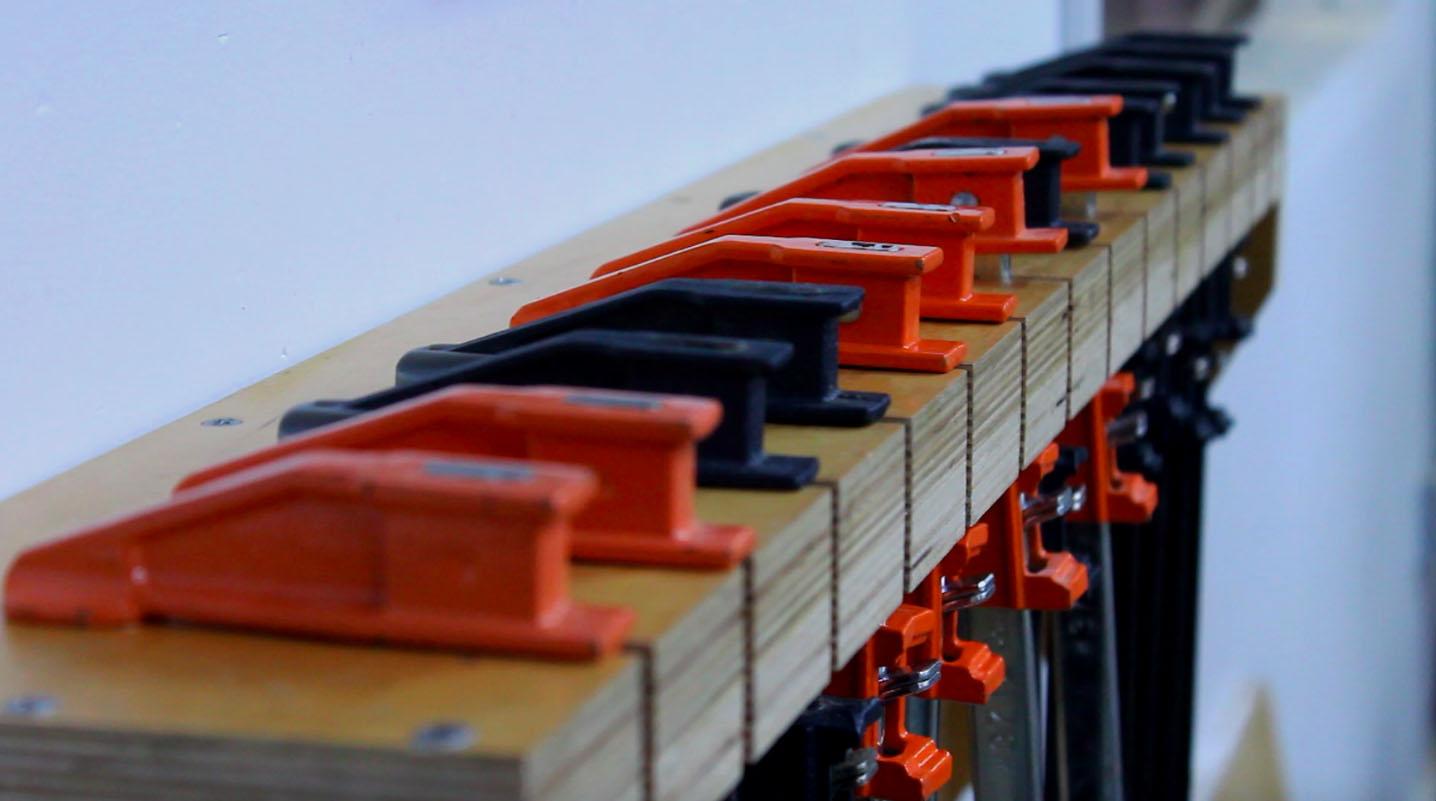Build a Simple Bar Clamp Storage Rack
