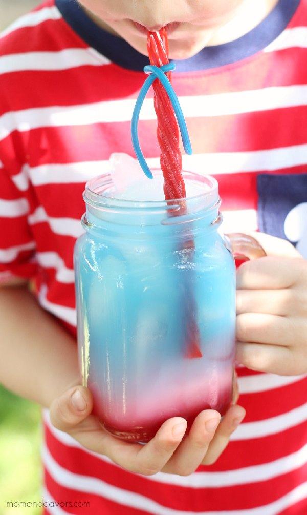 Summer Sips: Kid-Friendly Patriotic Punch Recipe