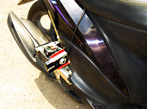 Motorcycle Gyromount Always Delivers Perfect Video