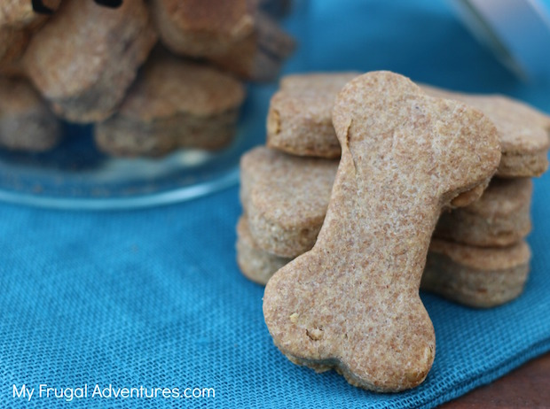 Pet Project: Homemade Peanut Butter Dog Biscuit Recipe