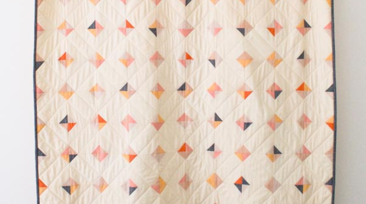 Stitch It: Tiny Tile Quilt