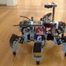 Agile Hexapod Sees with Market's Smallest, Lowest Cost LIDAR