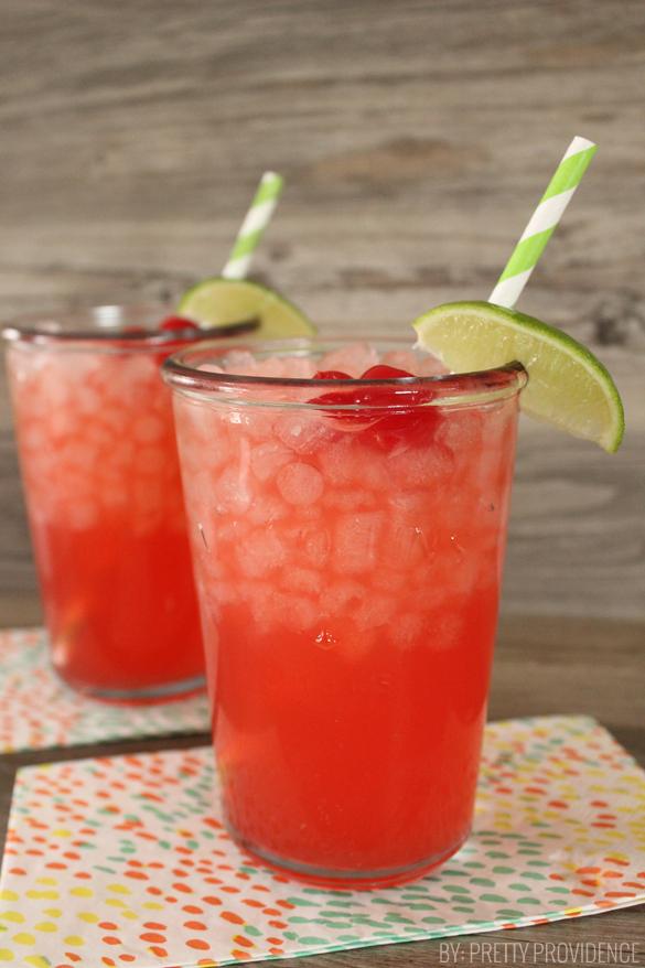 Sweet Sips: Cherry Limeade Recipe
