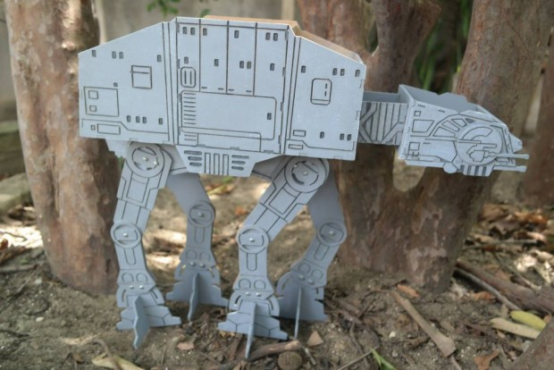 DIY AT-AT Storage Box