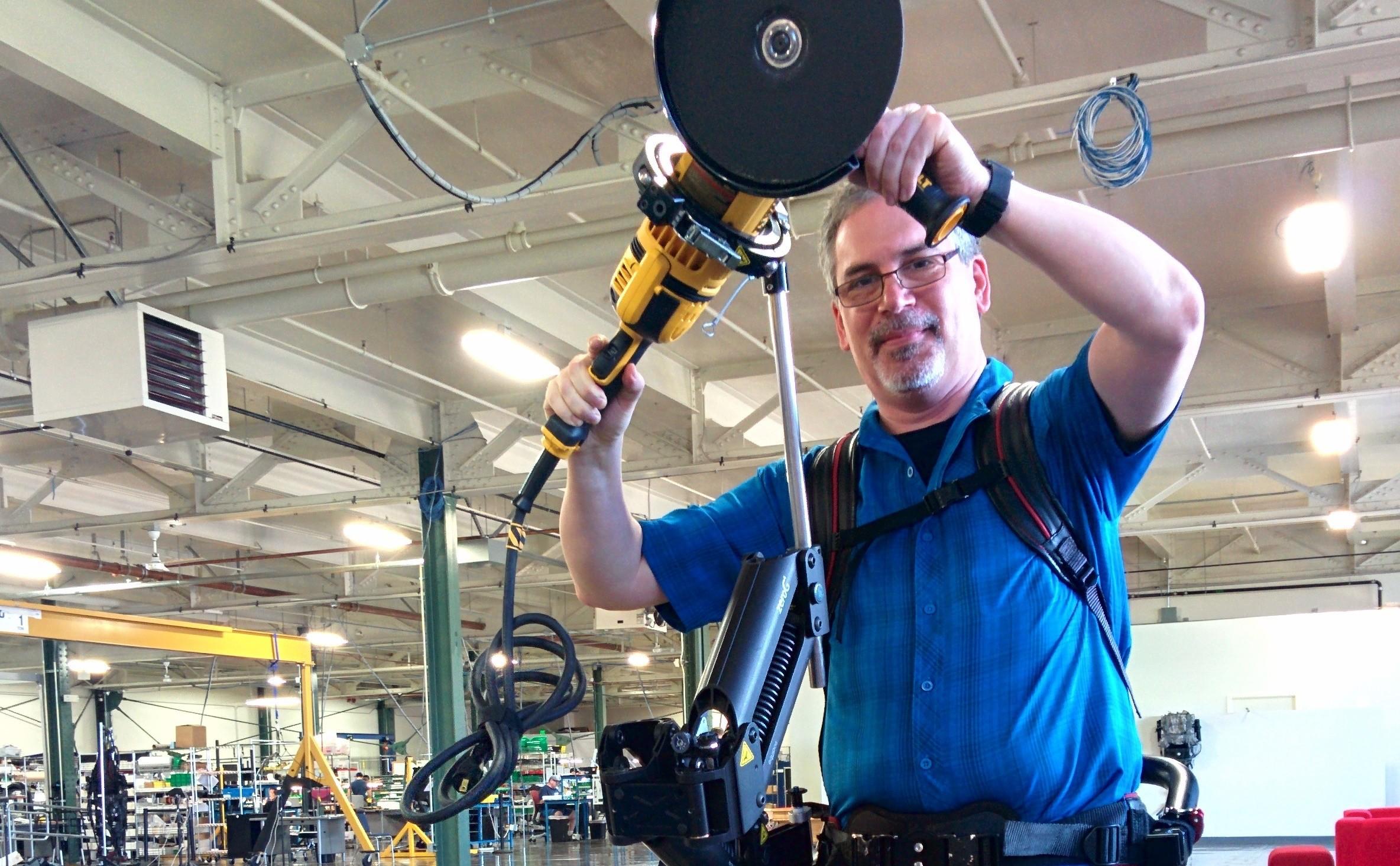 I Tried an Industrial Exoskeleton