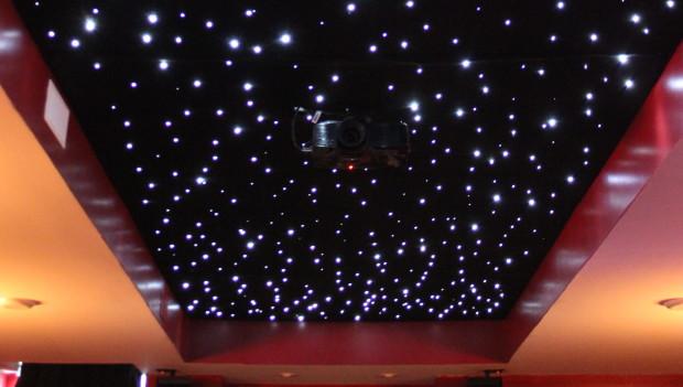 DIY Fiber Optic Star Ceiling