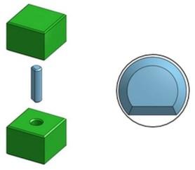 Round Pin / Round Hole Press-Fit Design