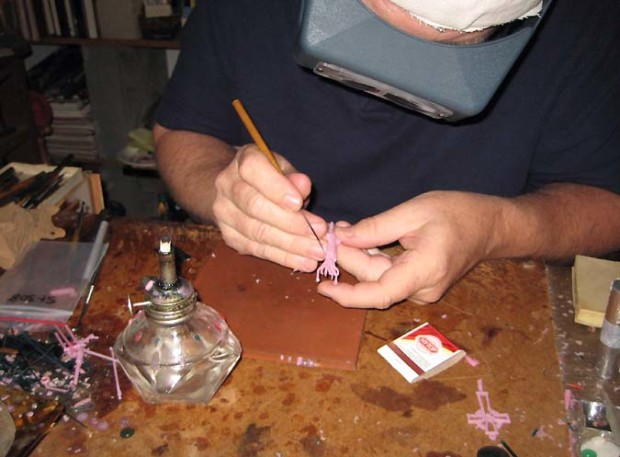 introduction to lost wax casting skill builder make