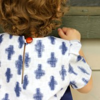 Sewing Hacks: Change a Zipper to a Button Closure