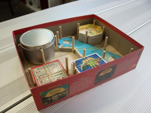 Board Game Box Organizer to Keep Pieces Tidy
