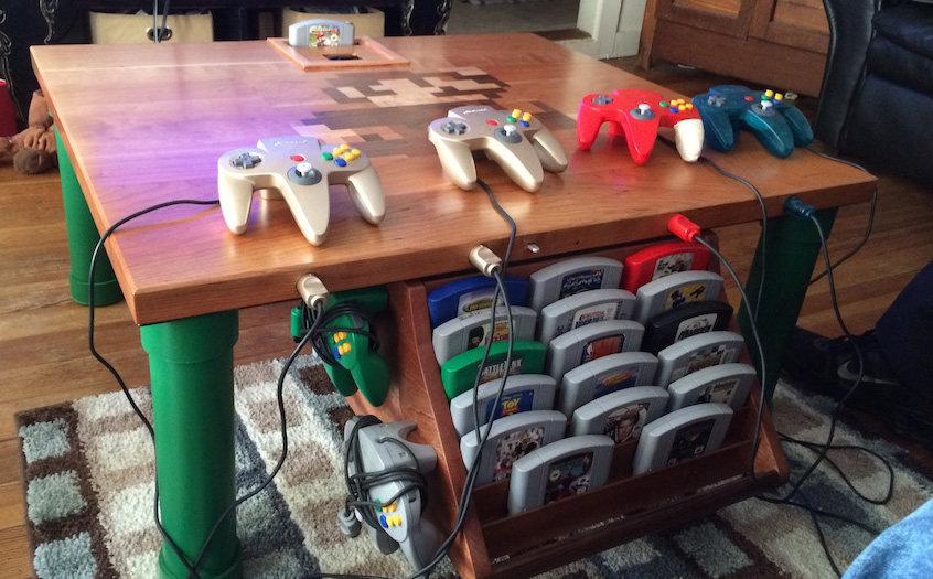 This Is the Nintendo 64 Game Table I Wish I Had as a Kid