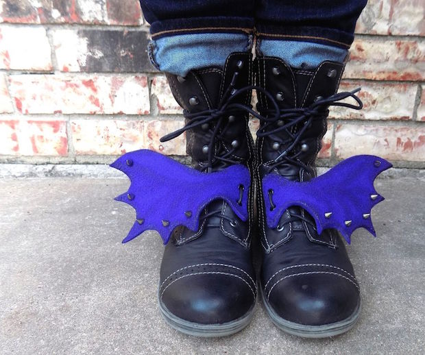 DIY Fashion: Dragon Wing Boots