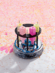 Retired Cleaning Robot Turned Into Abstract Expressionist Painter