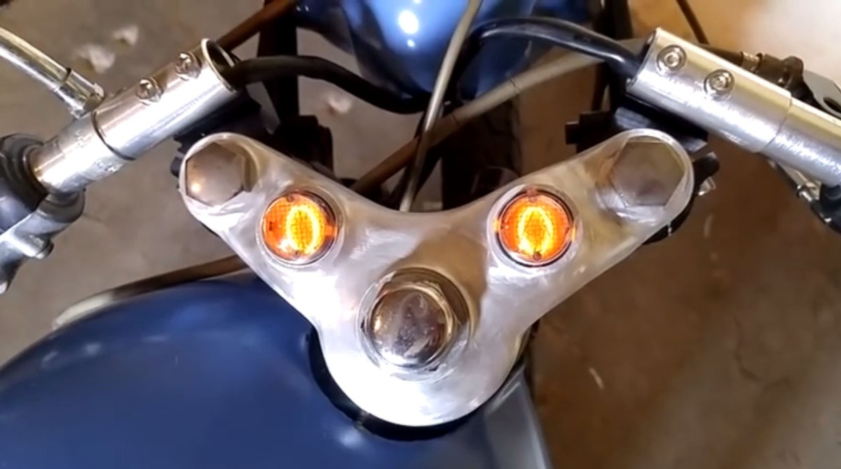 Nixie Tube Speedometer for a '70s Era Motorcycle | Make: