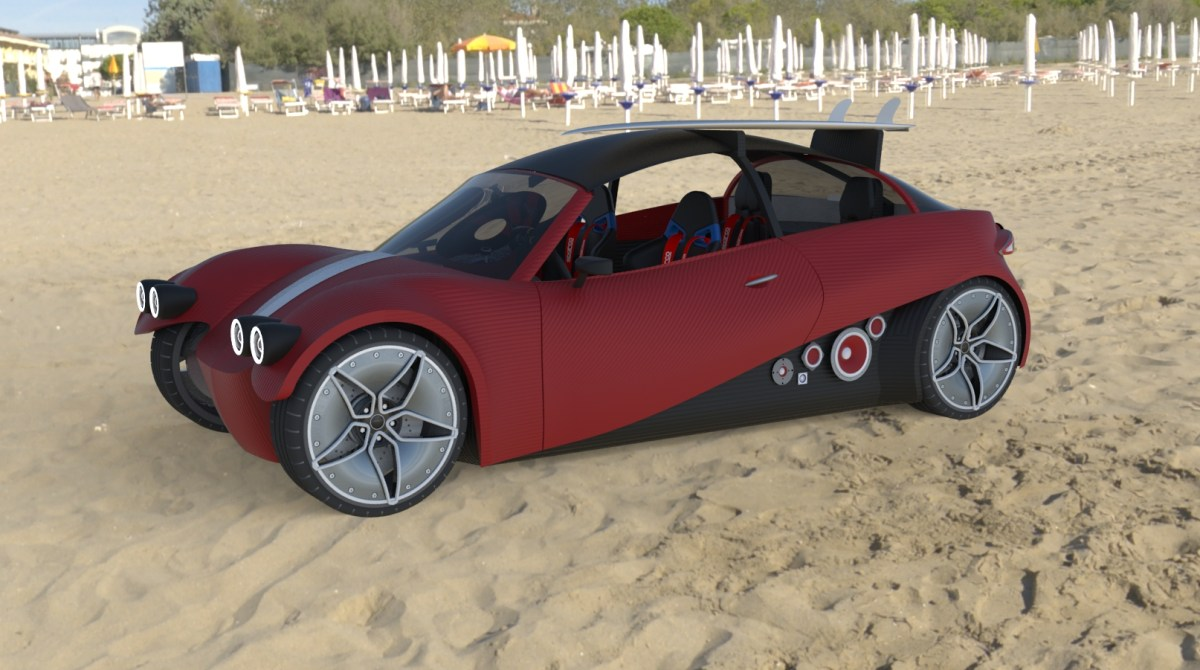 This Open Source Chassis Is The Next 3d Printed Car Make