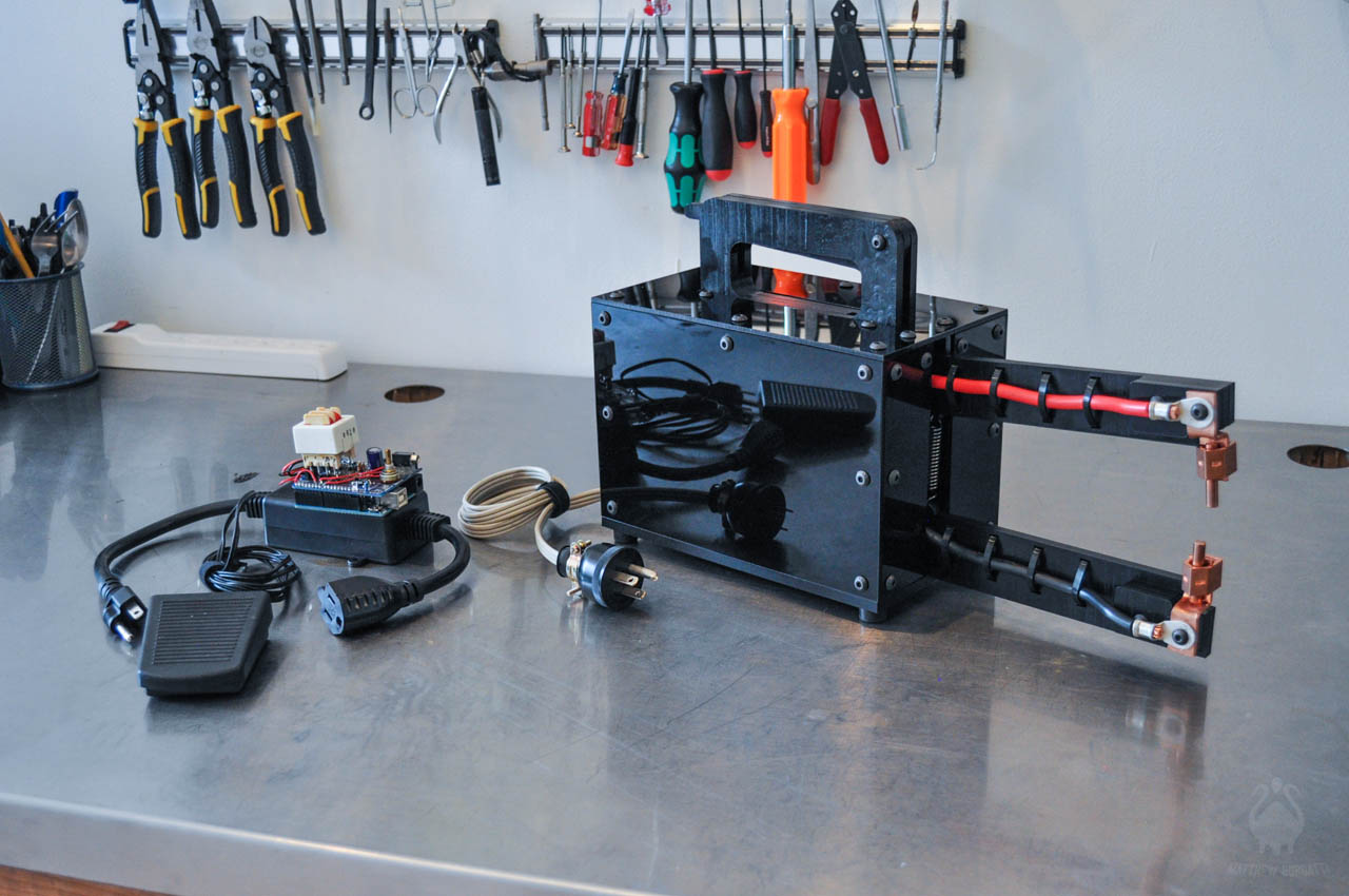 With that in mind, long-time Maker Matthew Borgatti recently completed work on a homemade spot welder, ...