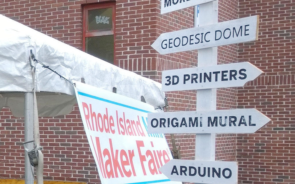 Go to Rhode Island Mini Maker Faire, Get into Foo Fest Free