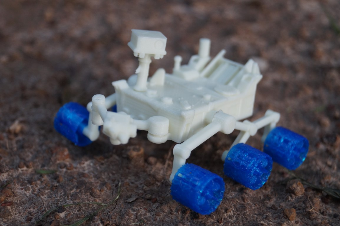NASA Releases 3D Printable Files for Pint-Sized Curiosity Mars Rover