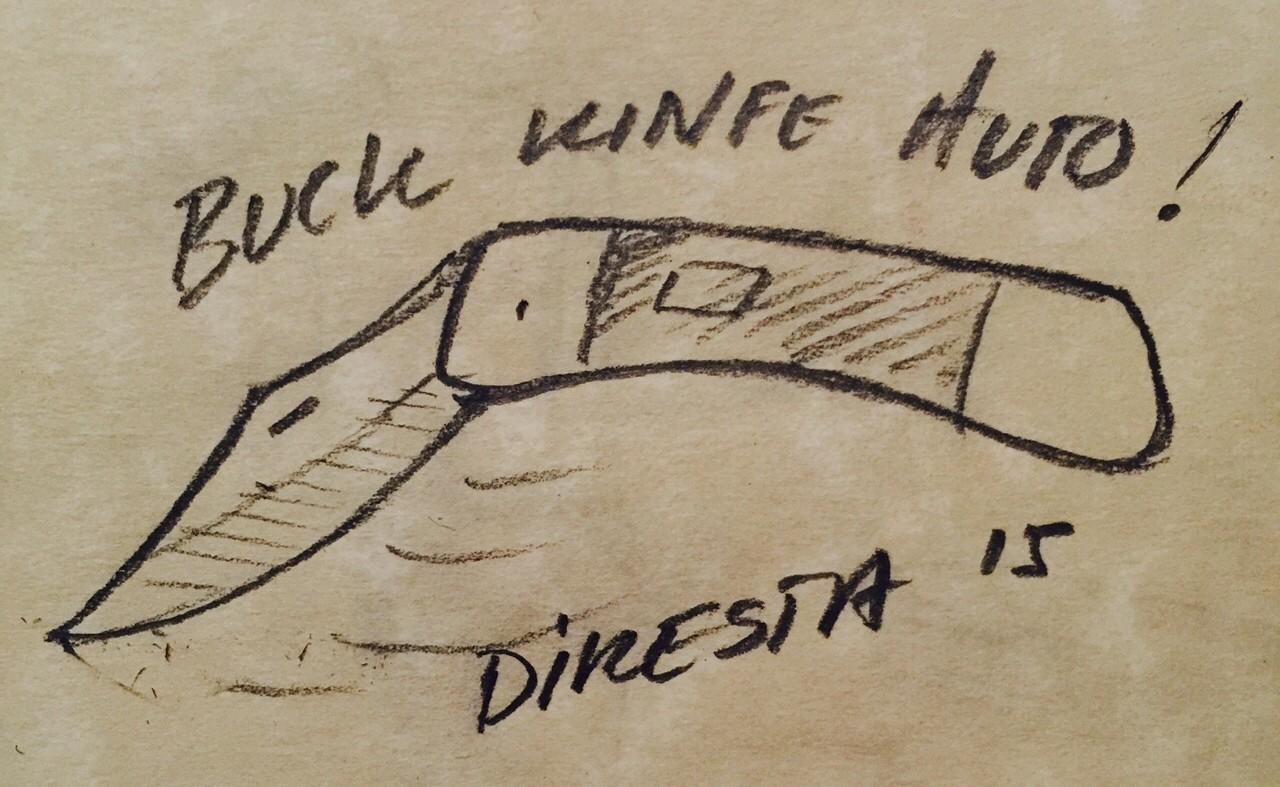 DiResta: Buck Knife Auto Conversion