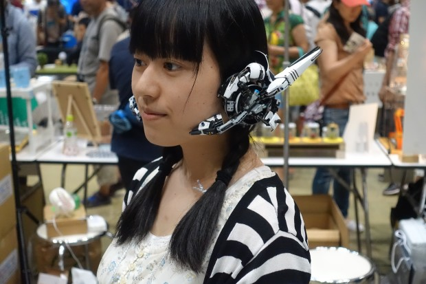 Futuristic headphones 1