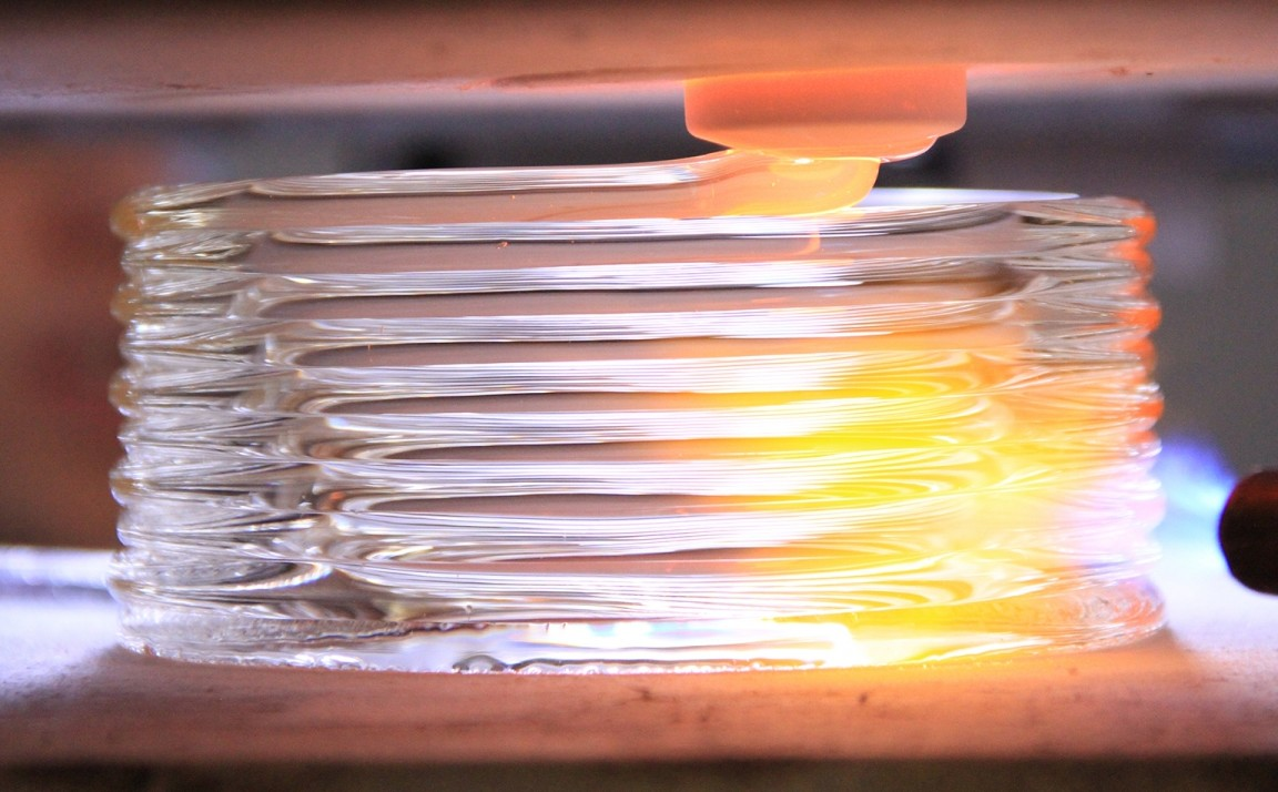 Print with Glass Using MIT's New Molten Glass Extruder