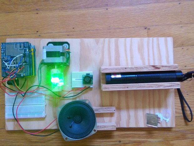 Build a Two-Octave Laser Harp