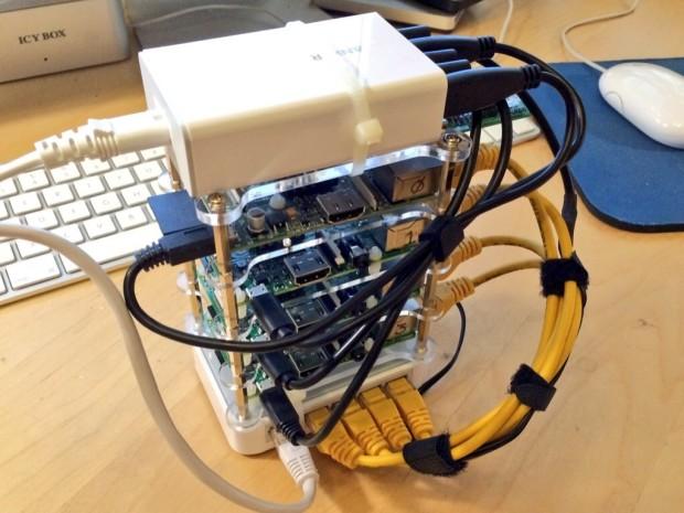 A 4-node Raspberry Pi Cluster