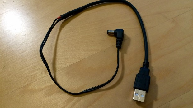 The 'frankenstein' cable.