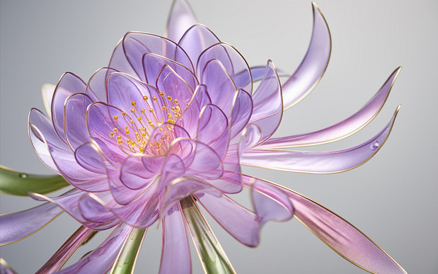 Delicate Resin Flowers Bloom with This Unusual Technique