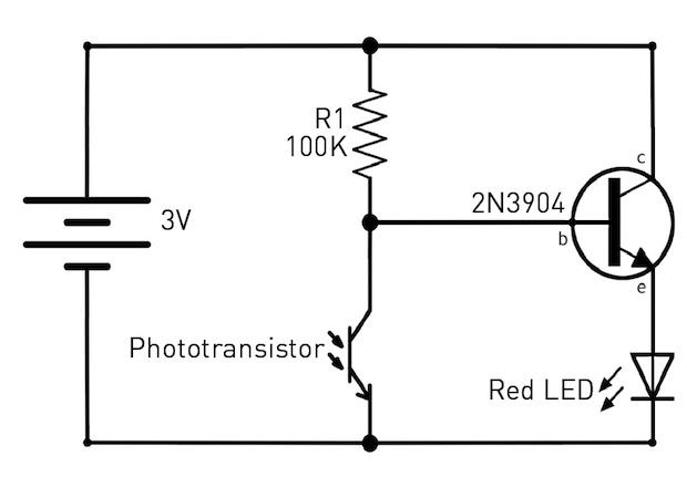 solder a simple dark
