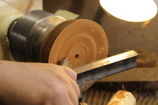 The Bowl gouge in use