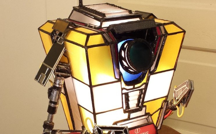 Stained Glass Claptrap Lights Up The Borderlands