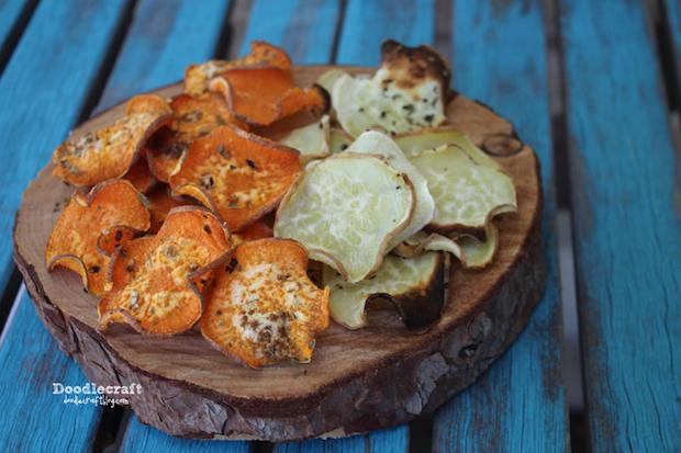 Bake a Tasty Batch of Sweet Potato Chips!