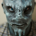 Makeup and Prosthetic work by dark Bunny FX