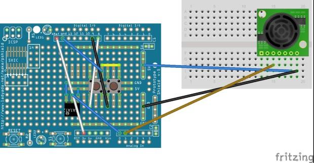 Laser Harp Wiring Diagram