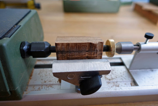 Turning the mouthpiece