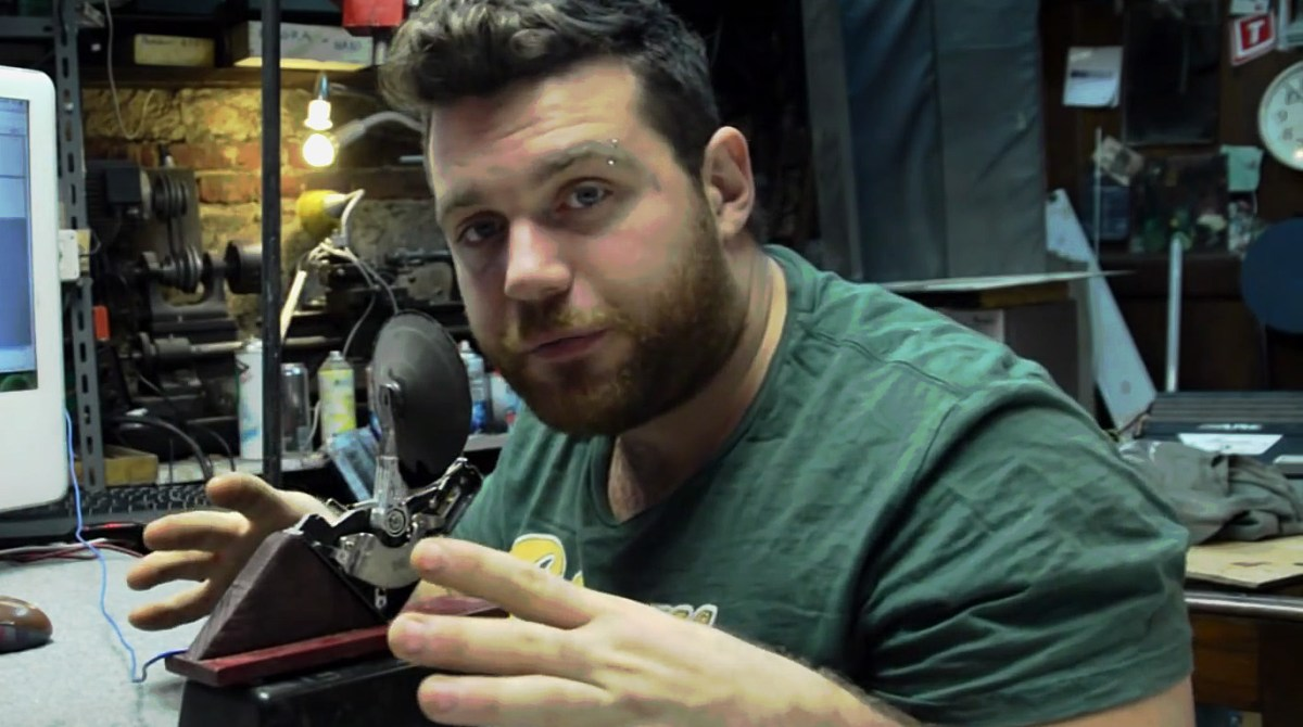 Over the Top: Hack a Hard Drive into a Working Microphone