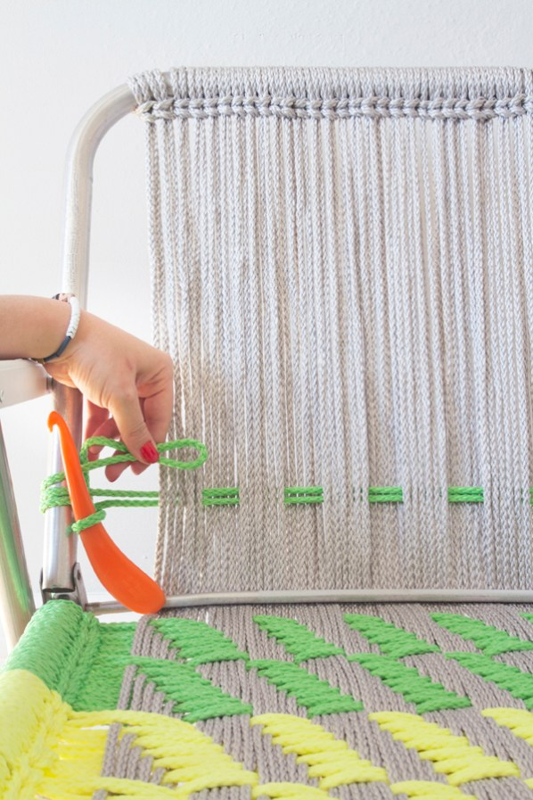 Upgrade Your Outdoor Seating with DIY Macrame Garden Chairs