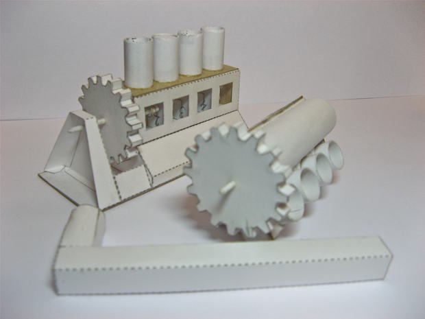These Working Papercraft Engines Are Jaw-Droppers | Make: