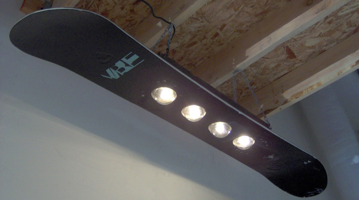 6 Awesome Light Fixtures to Brighten Your Shop