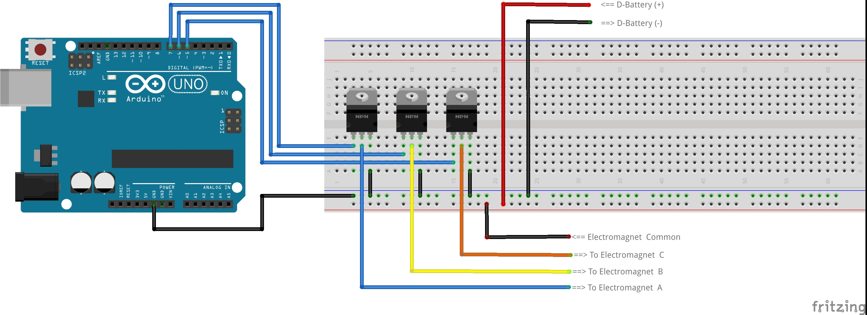 Recreate A 140 Year Old Brushless Motor On 3d Printer Make Speed Fan Wiring Diagram Along With End Stop Breadboard The Circuit Following Then Download Arduino Code Here Connect To Your Computer Open