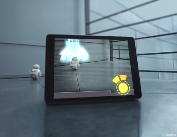 Holographic Messaging In BB-8 App