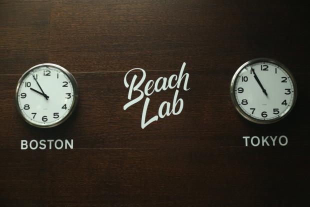 beach lab