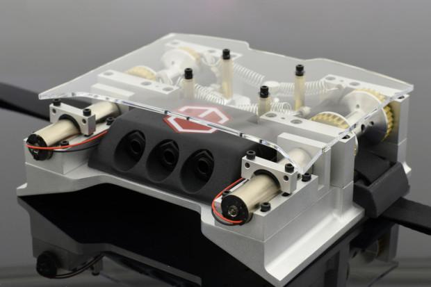 The mechanical bits of the Mechanek (Photo: Mechanek)