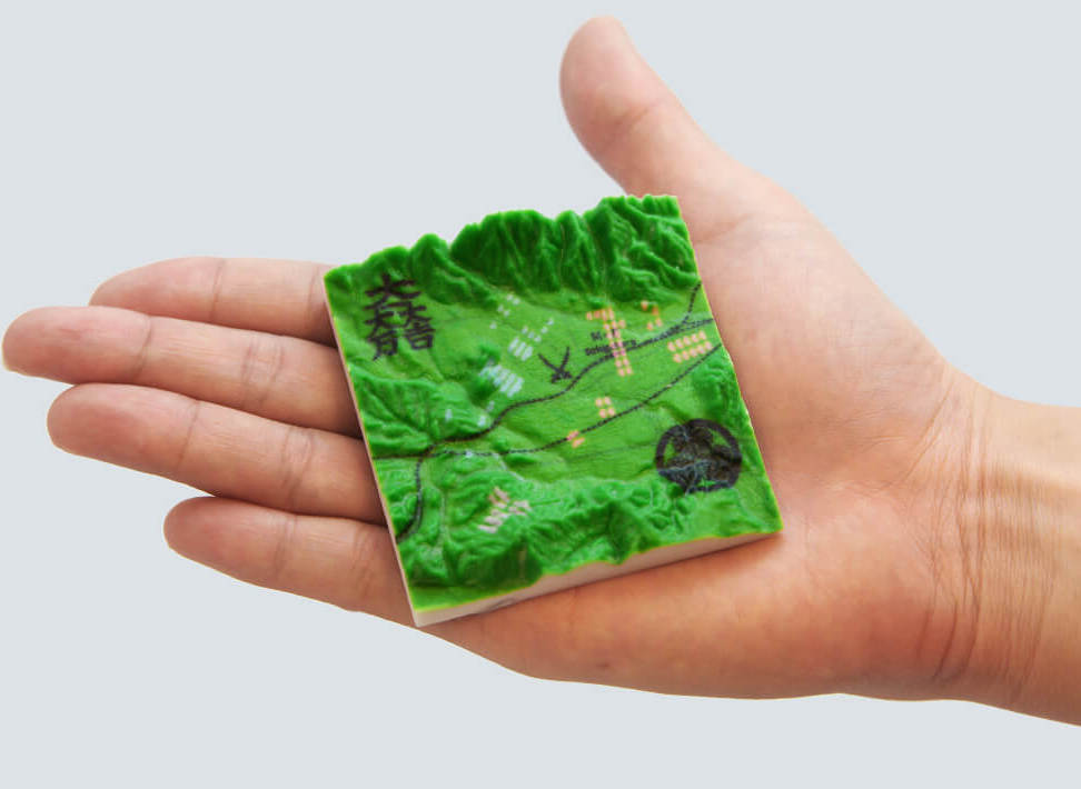 Hold a Moment of History in Your Hand with 3D Printed Maps