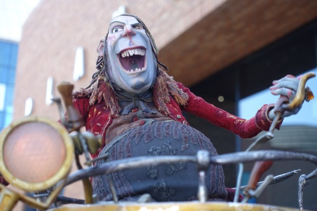 Archibald Snatcher puppet from The Box Trolls