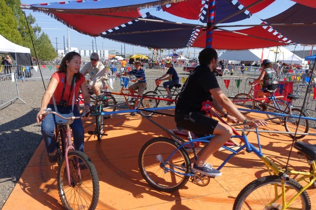 Bicycle-powered rides from Cyclecide