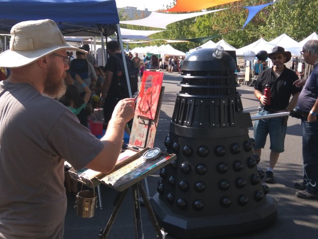 Painting a Dalek