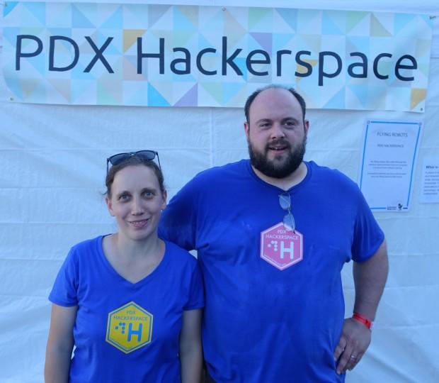 John and Linda represented PDX Hackerspace